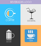 Logo coctail Royalty Free Stock Image
