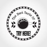 Logo Coffee2 Obraz Stock