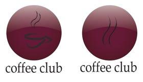 Logo coffee club Royalty Free Stock Image