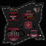 Logo coffee Stock Photo