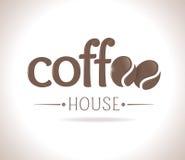 Logo coffee Royalty Free Stock Photos