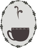 Logo for coffee Royalty Free Stock Photography