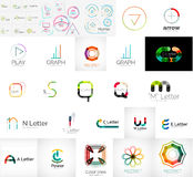 Logo collection Stock Image