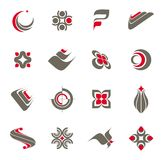 Logo collection - set #1 Royalty Free Stock Photo