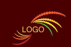 Logo coloré pointillé par vecteur Image libre de droits