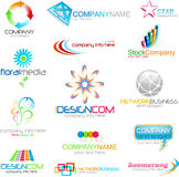 Logo company business identity Royalty Free Stock Images