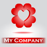 Logo for company Royalty Free Stock Photo