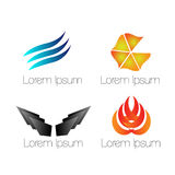 Logo for company. It's logo for your bussiness you can choose it Royalty Free Stock Images