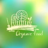 Logo con l'immagine degli alberi e delle foreste royalty illustrazione gratis
