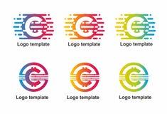 Logo con la lettera C immagine stock libera da diritti
