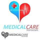 Logo Concept médico Imagens de Stock
