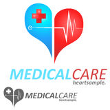 Logo Concept medico Immagini Stock