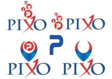 Logo Concept per i giochi o il gioco Immagine Stock Libera da Diritti