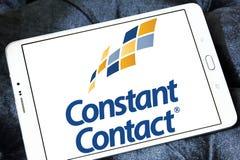 Constant Contact marketing company logo. Logo of Constant Contact on samsung tablet . Constant Contact, Inc. is an online marketing company Royalty Free Stock Photography