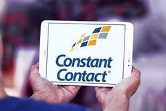 Constant Contact marketing company logo Royalty Free Stock Photo