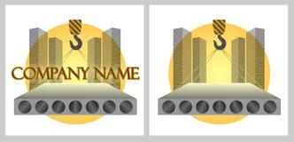 Logo of construction company Royalty Free Stock Image