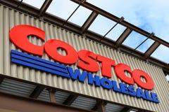 Logo of Costco royalty free stock photos