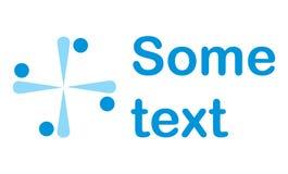 Logo coworking d'équipe Images stock