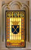 Logo Cracow (Krakow) - Polen för Jagiellonian universitet arkivfoton