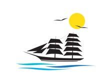 Logo cruise Royalty Free Stock Images