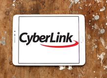 CyberLink software company logo Royalty Free Stock Images