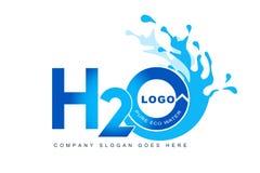 Logo d'éclaboussure de l'eau illustration libre de droits