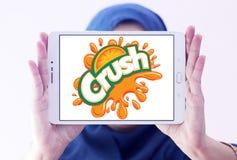 Logo d'écrasement images stock