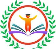 Logo d'éducation Photos stock