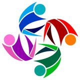 Logo d'équipe Photos libres de droits