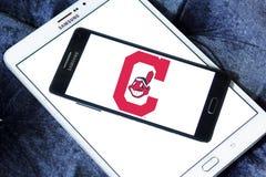 Logo d'équipe de baseball de Cleveland Indians illustration stock