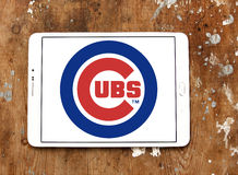 Logo d'équipe de baseball de Chicago Cubs photos libres de droits