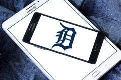 Logo d'équipe de baseball de Detroit Tigers Images libres de droits