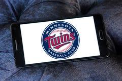 Logo d'équipe de baseball de Minnesota Twins illustration de vecteur