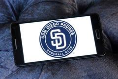 Logo d'équipe de baseball de San Diego Padres Images stock