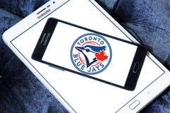 Logo d'équipe de baseball de Toronto Blue Jays Image libre de droits