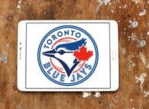 Logo d'équipe de baseball de Toronto Blue Jays Photographie stock