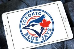 Logo d'équipe de baseball de Toronto Blue Jays illustration libre de droits