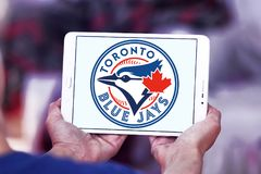 Logo d'équipe de baseball de Toronto Blue Jays illustration stock