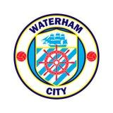 Logo d'équipe de football illustration de vecteur