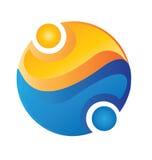 Logo d'équipe de gens Photos libres de droits