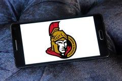 Logo d'équipe de hockey de glace d'Ottawa Senators photos libres de droits