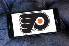 Logo d'équipe de hockey de glace de Philadelphia Flyers Photo libre de droits