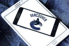 Logo d'équipe de hockey de glace de Vancouver Canucks Photo libre de droits