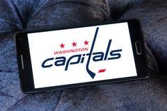 Logo d'équipe de hockey de glace de Washington Capitals Images stock