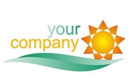 Logo d'été Photo stock