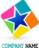 Logo d'étoile illustration libre de droits