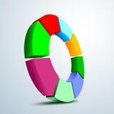 logo 3D Fotografia Stock Libera da Diritti