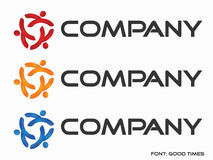 Logo d'abstraction (société) Images stock