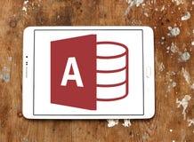 Logo d'Access de Microsoft Office photo stock