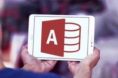 Logo d'Access de Microsoft Office images libres de droits